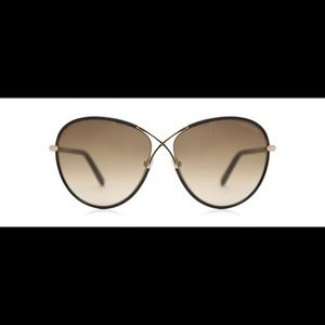 Tom Ford Womens Rosie Butterfly Sunglasses